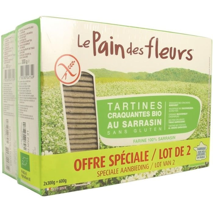 lot de deux tartines sarrasin