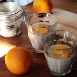 Chia pudding coco orange